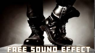 Heavy Footstep Sound Effect | HD/HQ