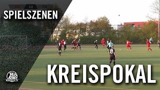 SV Höntrop - DJK TuS Hordel (Halbfinale, Kreispokal Bochum) - Spielszenen | RUHRKICK.TV
