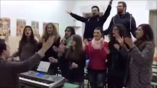 """VIDEO DA PARETE - """"Un giorno all'improvviso"""" in coro"""