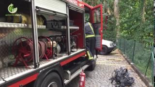 Incêndio causou danos em habitação na freguesia da Costa