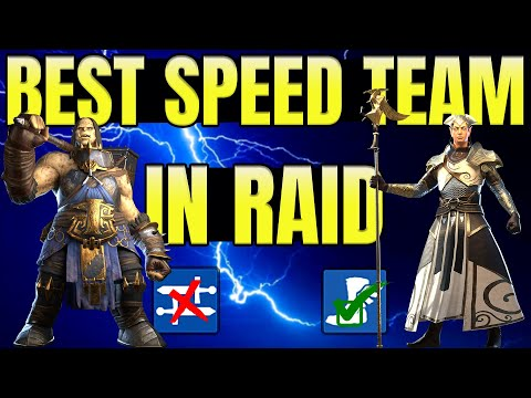 The Easiest Speed Team to Build I Raid Shadow Legends