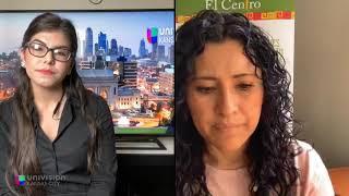 Elizabeth Reynosa de El Centro Inc. ofrece ayuda para llenar solicitudes gubernamentales