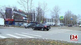 Пешеходного перехода возле Детской поликлиники больше нет