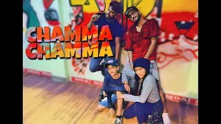 #DANCE #FREESTYLE #HIPHOP #DANCHALL Chamma Chamma Official Song (DANCE COVER)