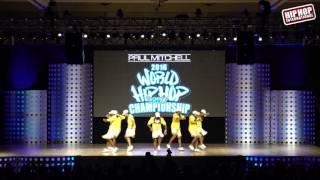13.13 Crew - India (Adult Division) @ #HHI2016 World Prelims!!