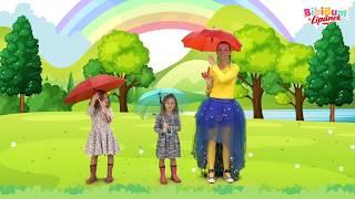 BibiBum - Prší prší, jen se leje - České lidové písničky pro děti, hry, říkanky, lidovky