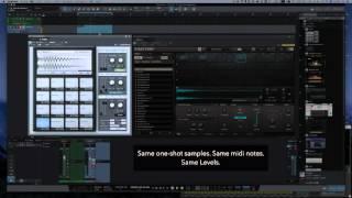 Comparision of drum sampler engine