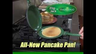 Flip Jack™ Pan - Official As Seen On TV Pancake Pan Commercial