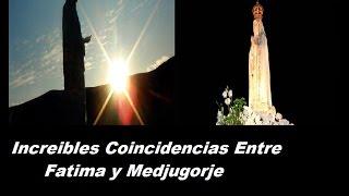Increibles coincidencias entre Fatima y medjugorje