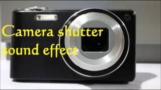 The Best Camera shutter sound effect - Kamera Auslösegeräusch sound Effekt