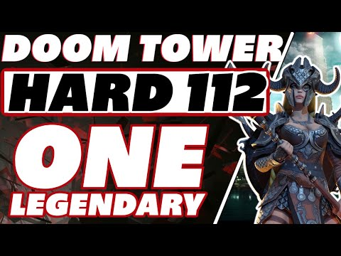 DT hard 112 one lego Kantra EASY!!!! Raid Shadow Legends Doom tower 112 guide