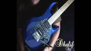 Dhalif Ali Rock Guitar Backing in B minor