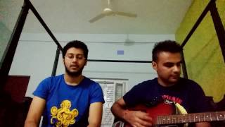 Just the way you are(Bruno mars)& Aashiyan(barfi) - mashup Guitar cover by Argho and Avinash