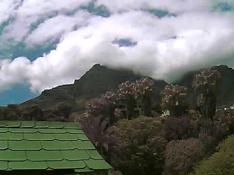 Timelapse Video – Table Mountain – 18/10/2010