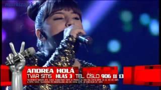 Hlas Česko Slovenska - Andrea Holá - Prince - Purple Rain