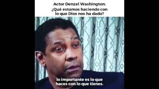 Denzel Washington - Reflexión - Reflection HD