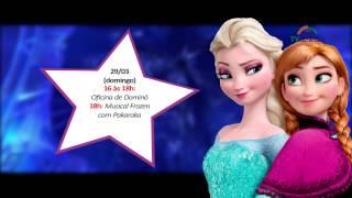 Musical Frozen (cover) no Shopping Benfica