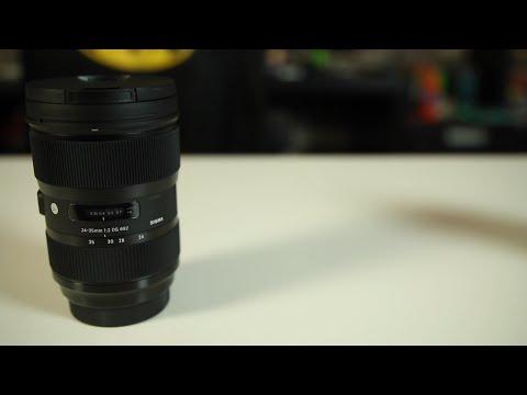 Sigma 24-35mm/F2.0 مراجعة العدسة الإحترافية