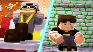 RICO VS POBRE - FÉRIAS ft SR PEDRO e ADRIANO - Minecraft Machinima