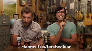 """Clearasil """"Re-en-acne-ments"""" with Good Mythical Morning"""