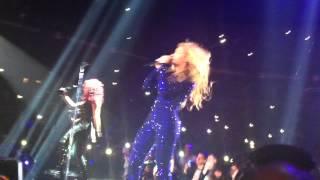 Beyonce-Love on top (live in Belgrade , Mr Carter  Show)