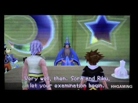 Kingdom Hearts 3D - walkthrough part 1 English version Opening HD Dream Drop Distance KH3D 3DS