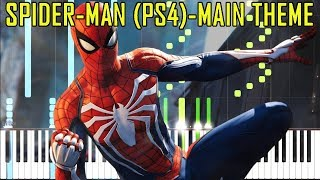Marvel's Spider-Man (PS4) Main Theme/Credits Music [Synthesia Piano Cover]