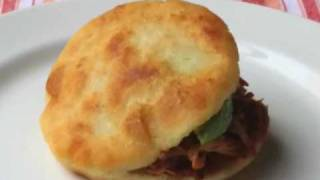 Food Wishes Recipes - How to Make Arepas - Arepas Recipe and Technique - Venezuelan Sandwich