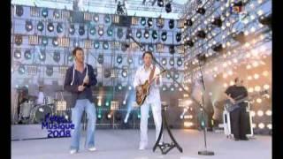 Christophe Mae & Francis Cabrel La Dame De Haute Savoie Live @ La Fete de la Musique France