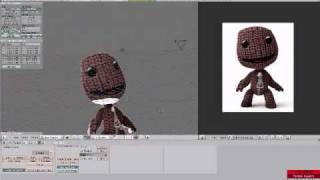 sackboy - blender modeling timelapse