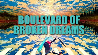 [ TRAP ] Nightcore - Boulevard of Broken Dreams (Wild Cards Remix)