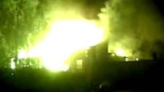 Pożar w Sianowie (film od Internauty)
