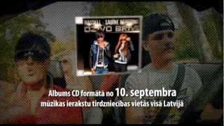 Rassell & Sabīnes Berezinas albuma reklāma (Lat)