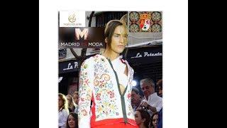 Bordados Carbajalinos con Maria Lafuente en la Semana de la moda de Madrid 2017