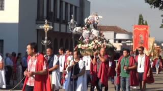 BANDA DA MUSICA DE VILELA NA PROCISSÃO DAS FESTAS DE PAREDESS