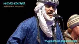 Traditional musicians live at Nomad Festival M´Hamid - Morocco Pt 4