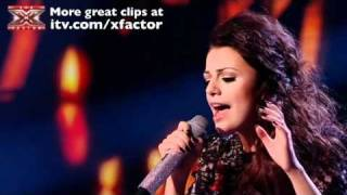 Cher Lloyd sings Love The Way You Lie - The X Factor Live Semi-Final - itv.com/xfactor