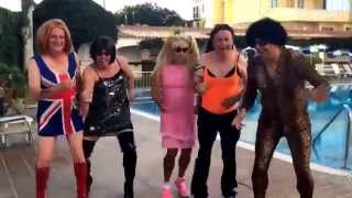 Spice Girls Reunite In Menorca. One Night Only!!!!!!!