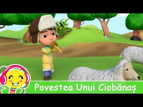 Povestea Unui Ciobanas - Cantece pentru copii de gradinita