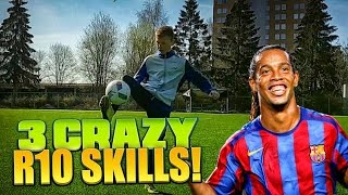 Learn 3 Ronaldinho Skills - Football/Soccer Tutorial