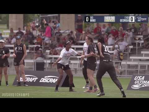 Video Thumbnail: 2019 College Championships, Women's Pool Play: Western Washington vs. Georgia
