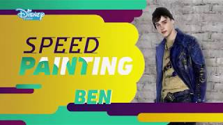 Os Descendentes 2: Speed Painting - Ben