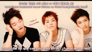 EXO - Lucky (Korean version) [Sub Español + Hangul + Rom]
