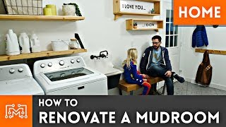 How to Renovate a Mudroom