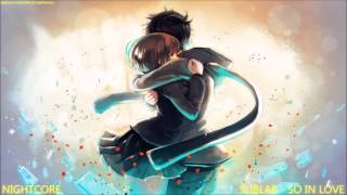 Nightcore - So In Love [HQ]