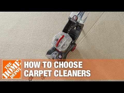 Types of Carpet Cleaners