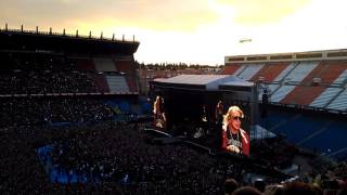 Guns 'n roses # Welcome to the jungle # Madrid Vicente Calderón 2017