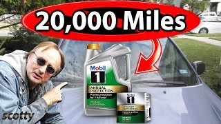 The Truth about 20,000 Mile Oil Changes - Myth Busted | Scotty