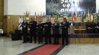 ADEPLAN - VARÕES - HINO MESA PREPARADA - CEIA 2012