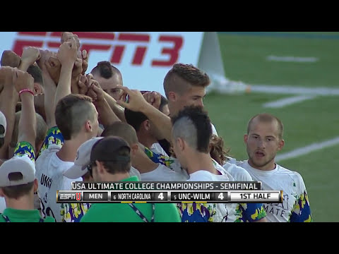 Video Thumbnail: 2014 College Championships, Men's Semifinal: North Carolina vs. UNC-Wilmington